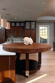 round butcher block table top full size of dining room butcher block table round butcher block