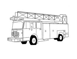 Elegant Free Fire Truck Coloring Pages Coloring Pages