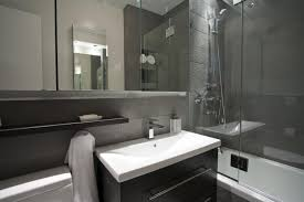modern shower head recessed bathroom lighting. Bathroom, Round Light Recessed Ceiling Lamp Herringbone Tile Floor Aluminium Frame Glass Tempered Divider Wall Modern Shower Head Bathroom Lighting