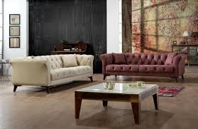 home and furniture chesterfield. Zeence Chess Chesterfield 3 Seater Dry Rose Sofa Home And Furniture O