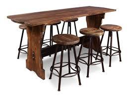 august grove conrad  piece counter height pub table set  wayfair