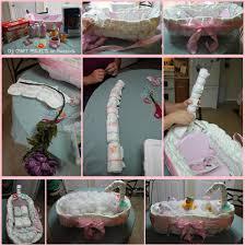 diaper baby tub diy baby shower gift