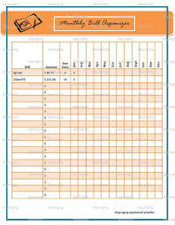 bill organizer template home bill organizer oyle kalakaari co