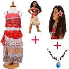 <b>2018</b> Summer 3pcs/lot Moana <b>Dress</b> for girls Moana Vaiana ...