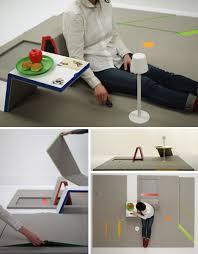 futuristic space saving furniture. SpaceSaving FoldOut Furniture Mat And Futuristic Space Saving