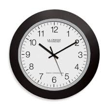 large office wall clocks. Brilliant Office La Crosse Technology Atomic Wall Clock With Black Frame Intended Large Office Clocks A