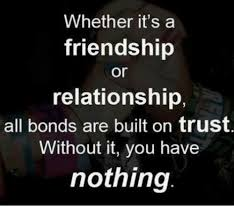 Trust In Friendship