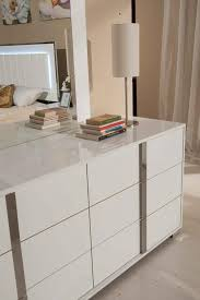 VG-Made In Italy White Lacquer Bedroom Set