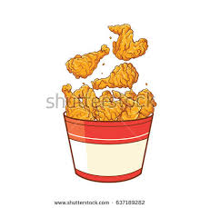 chicken meat clipart. Unique Meat Fast Food Fried Chicken Meat Vector Stock To Clipart A