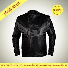 enjoy leather jaket kulit motor model eljkm01 murah berkualitas