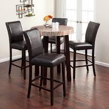 46 Round Marble Kitchen Table Sets Mcferran Home High Top Kitchen