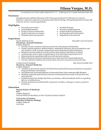 10 Medical Resume Sample Mla Cover Page