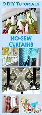 Diy No Sew Curtains Best 10 Sewing Curtains Ideas On Pinterest Make Curtains How