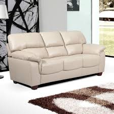 cream leather sofa sectional