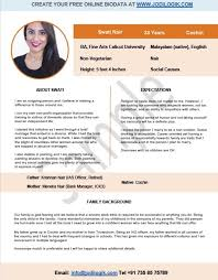 Biodata Format For Marriage 15 Templates 7 Samples