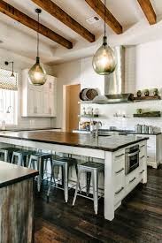 Rustic Modern Kitchen Home Design Ideas - Huge kitchens