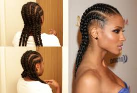 Plaiting Hair Style photo plaiting hair style glamours corn rows 11 braided 6780 by wearticles.com