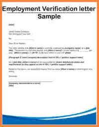 employment verification letter template employment verification letter 233x
