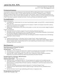 Endearing Pharmacist Resume Sample India In Hospital Examples