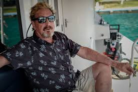 John McAfee jailed in Dominican Republic on gun charges
