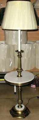 stiffel floor lamps. Stiffel Floor Lamps Brass Lamp With Marble Tray Table Globe