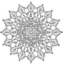 Small Picture 25 unique Snowflake coloring pages ideas on Pinterest Snowflake