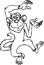 Seahorse Coloring Pages Monkey Coloring Page To Print Pages