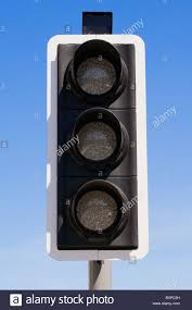 Blank Stop Light Traffic Lights Signal Blank No Colour No Color Traffic