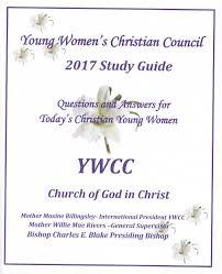 young women s christian council study guide questions and oung women s christian council study guide 2017