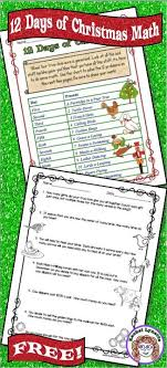 best christmas activities and ideas images  these twelve days of christmas multi step math word problems are challenging fun and