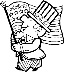 Small Picture Patriotic coloring pages printable sheets of Uncle Sam July 4th