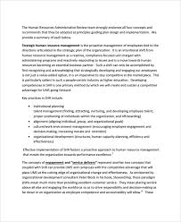 sample hr report documents in word pdf hr review report template