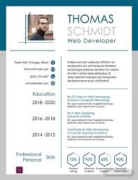 Free 3 Page Resume Template Word Psd Indesign Apple