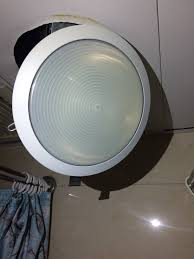 Change Light Bulb In Ceiling Electrical Anybody Know How To Change My Bathroom Light