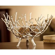 Decorative Metal Tray Crystal Fruit Tray For Wedding Party Home Home Garden Decorative
