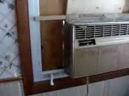 window air conditioner installation. crank out window air conditioner install installation