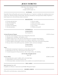 Luxury Hospitality Resume Types Of Letter