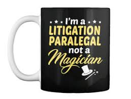 Details About Litigation Paralegal Not Magician Gift Coffee Mug