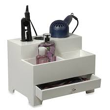 image of Personal Hair Styling Organizer in White