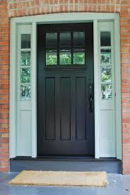 black single front doors. Awesome Black Single Front Doors With Residential Entry Sidelights Innovative D