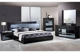platform bed with nightstand. Manhattan Queen Size Platform Bed W/ Lights, Dresser, Mirror \u0026 1 Night Stand With Nightstand S
