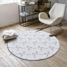 Amazoncom Momo Rug Nordic Kreative Runde Teppich Wohnzimmer