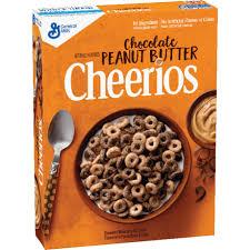 a box of chocolate peanut er cheerios