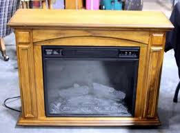 style selections electric fireplace and mantel model 73078