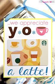 teacher appreciation donuts coffee mason jar gift idea free printables this fun