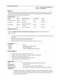 Very Good Resumes Resumes Very Good Resume Examples For Teachers With No Experience