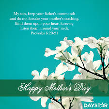 Scriptures For Mothers Day Happy Mother's Day [Daystar] Holidays Events Pinterest 15