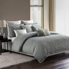 king size duvet sets. Highline Bedding Co. Azara King Duvet Cover Set In Steel/Natural Size Sets