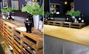 wood pallets furniture. Build A Home Bar DIY Furniture From Euro Pallets - 101 Craft Ideas For Wood :