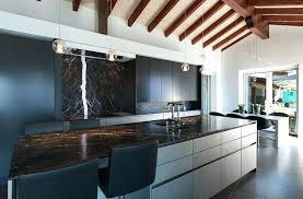 backsplash for kitchen with black granite countertop modern kitchen with white cabinets and black granite and